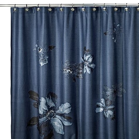 kenneth cole curtains kenneth cole reaction 174 home etched floral shower curtain