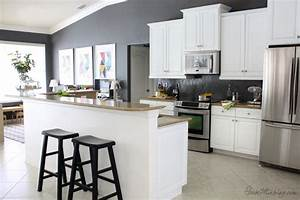 paint for kitchen walls with white cabinets kitchen and With kitchen colors with white cabinets with wall art map