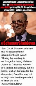 Senator Chuck Schumer Admitted That He Shut Down the ...
