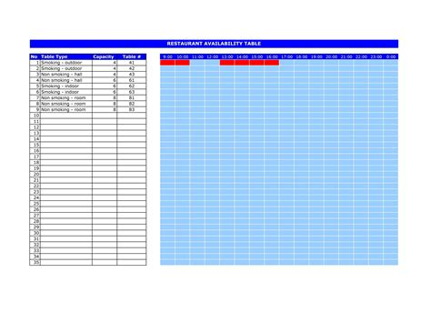 hotel reservation template