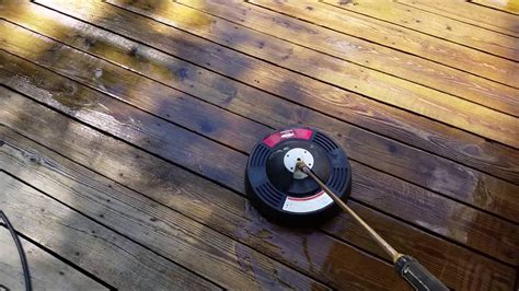 pressure wash  deck  easy  fast