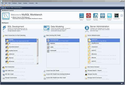 mysql workbench    freewarefilescom