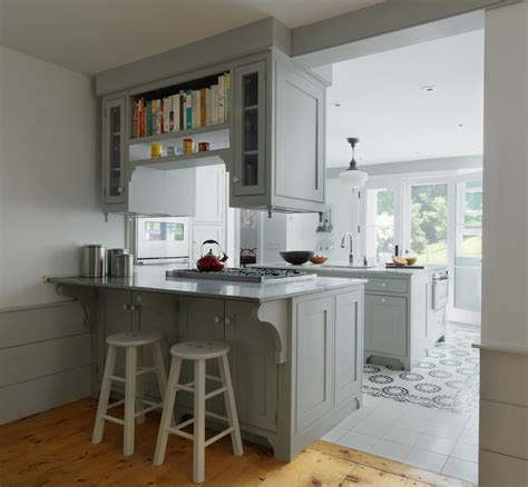 Suspended Cabinets   Cottage   kitchen   Peregrine Design