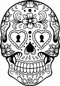 Dibujos para colorear el día de los muertos (7) - Imagenes ...