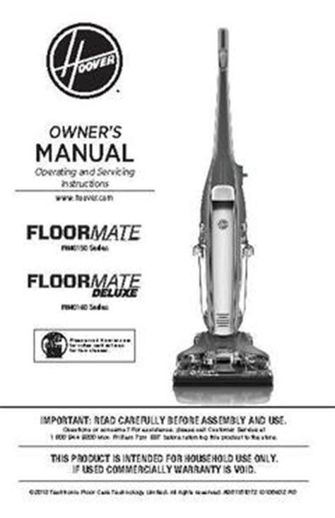 hoover floor scrubber manual hoover floormate deluxe floor cleaner pcrichard