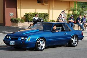 FORD MUSTANG 5.0 LX FOXBODY COUPE with '94 SVT COBRA WHEEL… | Flickr