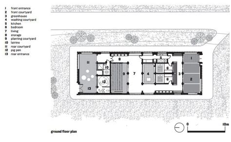 contemporary    traditional chinese courtyard house treehugger