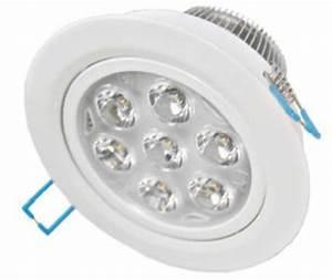 Spot Led Encastrable Plafond : spot led encastrable plafond 220v 14w blanc chaud ~ Dailycaller-alerts.com Idées de Décoration
