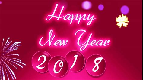 happy  year  wishes animated video greeting card