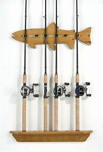 1000  Images About Fishing Rod Rack On Pinterest