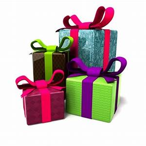 Wrapped Christmas Gifts - Cliparts.co
