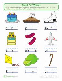 5th grade word problems silent quot e quot word play worksheet education