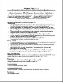free resume template for office administrator office manager free resumes