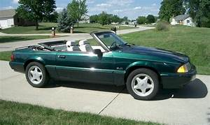 Deep Emerald Green 1990 Ford Mustang 25th Anniversary 7-UP Convertible - MustangAttitude.com ...