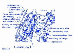 Nissan 350z 2002 Engine Fuse Box  Block Circuit Breaker