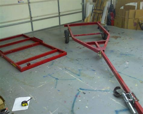 Harbor Freight Floor Extender by Combine Harbor Freight 4x8 Trailer With The Hf Boat Trailer