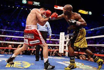 Mayweather Floyd Boxing Defeated Buck Happy Guerrero