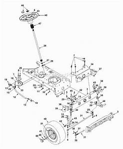 Troy Bilt Mustang 50 Deck Belt Diagram