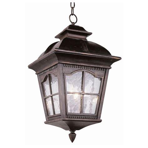 tudor revival outdoor hanging light 3 light