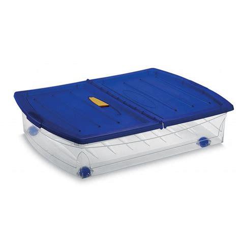 boite de rangement a roulettes sous lit rangement sous lit les bons plans de micromonde