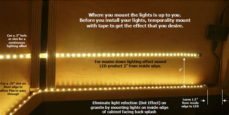 how to install led strip lights under cabinets flexible strips how to install leds under cabinets