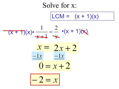 106 Solving Rational Equations  Ppt Video Online Download