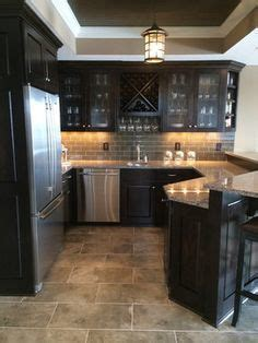 tiling kitchen countertop porcelain tile plank floors with cherry cabinets been 2821