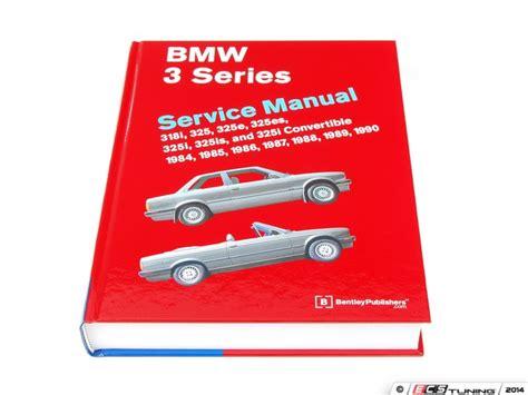 Bmw E30 3 Series (1984-1991) Service Manual
