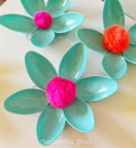 spoon flowers   spring plastic spoons crafts