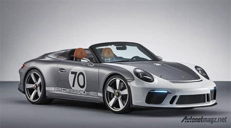 Gambar Mobil Porsche 911 by Porsche 911 Speedster Concept Autonetmagz Review