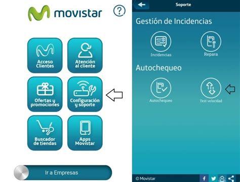 Comprueba La Velocidad De Internet En App Mi Movistar