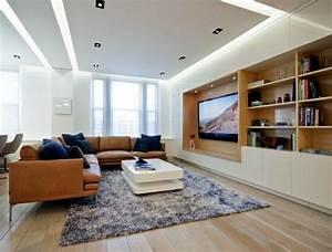 Indirekte Deckenbeleuchtung Wohnzimmer : indirekte beleuchtung an decke 68 tolle fotos ~ Michelbontemps.com Haus und Dekorationen