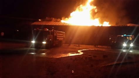 zimra custom warehouse  beitbridge destroyed  fire