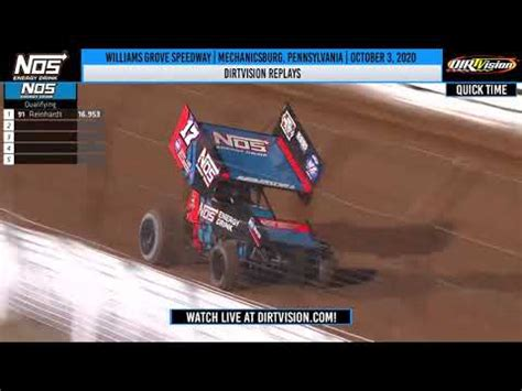DIRTVISION REPLAYS | Williams Grove Speedway October 3 ...