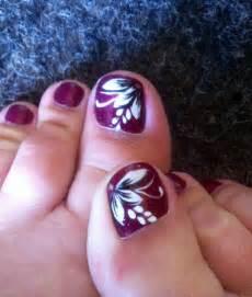 My summer holiday toe nail art nails