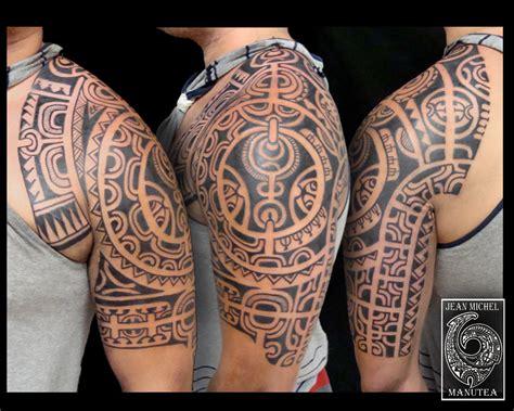 Tatouage Polynesienpolynesian Tattoo Tahiti Tattoo