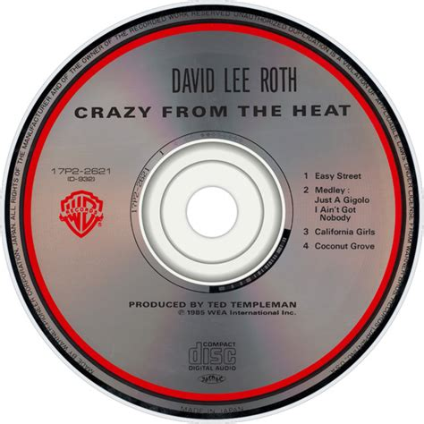 David Lee Roth Steps Outside Of Van Halen With 'crazy From