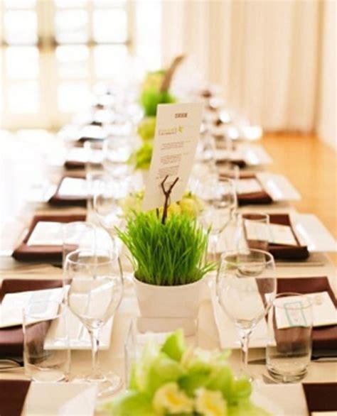 Tischdeko Modern Schlicht by Hochzeitsdeko F 252 R Tisch 65 Coole Ideen Archzine Net