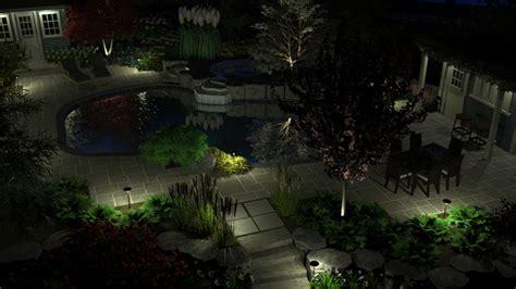 landscape outdoor lighting design led landscape lights