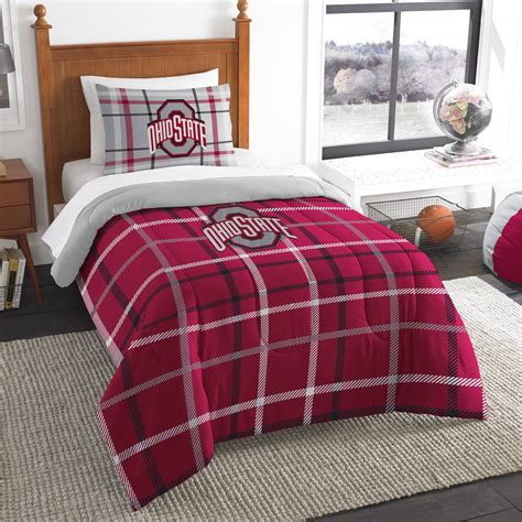 31970 ohio state bed set ncaa bedding set ohio state shop your way