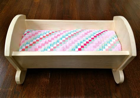 how to make a baby crib that s my letter diy vintage style doll crib