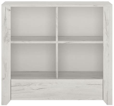 Buy Low Bookcase by Buy Aurelia White Low Bookcase The Furn Shop