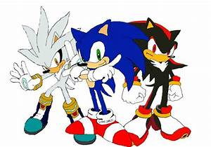 Sonic, Shadow and Silver by taiman6 on DeviantArt