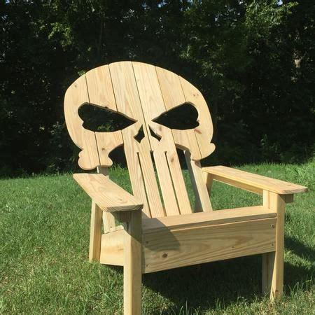 punisher skull adirondack chair punisher skull  punisher