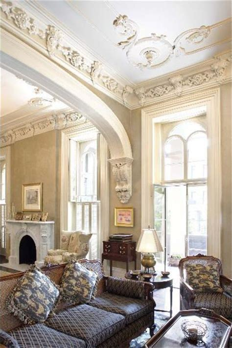 townhouse julian king architect parlor historic home home interior architecture
