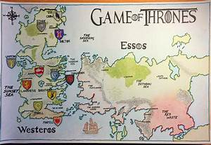 Westeros And Essos Map | Clubmotorseattle