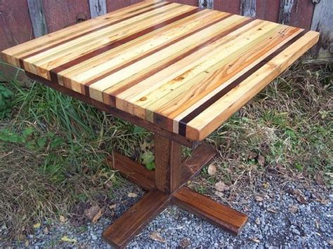 Buy A Hand Made Butcher Block Kitchen Table With Reclaimed