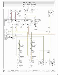 Wiring Diagram For A 2005 Jeep Wrangler
