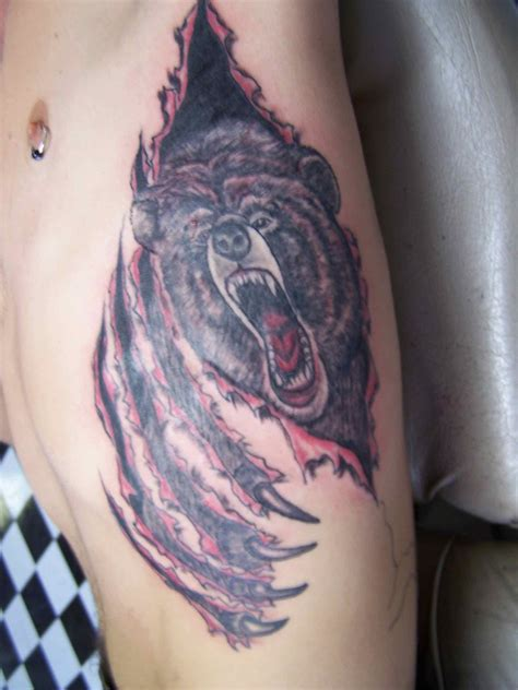 Bear Tattoos Designs, Ideas and Meaning | Tattoos For You
