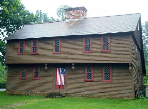 Colonial American House Styles Guide 1600 to 1800